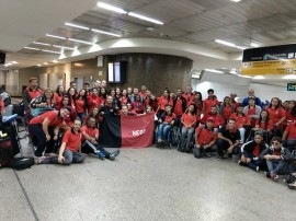 delegacaoparaibana 270x202 - Com apoio do Governo da Paraíba, delegação disputa as Paralimpíadas Escolares em SP