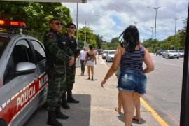 operação enem 270x180 - Polícia Militar garante a segurança e tranquilidade aos participantes do Enem na Paraíba