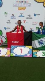 para atleta 151x270 - Paraíba conquista 19 medalhas nas Paralimpíadas Escolares em São Paulo