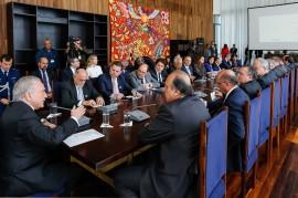 reunião temer1 270x179 - Vice-governadora participa de reunião sobre a reforma da Previdência