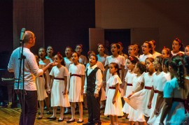concerto coro infantil 12.10.16 thercles silva 4 270x179 - Chorus Fest 2017 reúne sete corais no Centro Cultural Ariano Suassuna