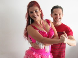 dança Jonas Karlos e Beth Sotero 1 270x202 - Projeto Interatos traz encontro de dança de salão, homenagem e atração internacional