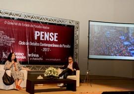 ligia assiste palestra da juiza do TJ RJ no pense foto walter rafae 7 270x191 - Vice-governadora participa de última palestra do Ciclo de Debates Contemporâneos da Paraíba 2017