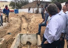 sec joao azevedo inspeciona obras no vale do piaco 3 270x191 - João Azevêdo inspeciona obras de infraestrutura no Vale do Piancó