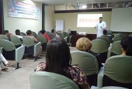 trauma da capital faz palestra para acompanhantes 4 270x183 - Saúde preventiva é discutida com acompanhantes em palestra no Hospital de Trauma de João Pessoa