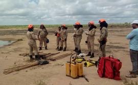 19.01.18 bombeiros 1 1 270x167 - Bombeiros realizam capacitação em combate a incêndios florestais