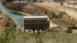 AESA Estação de Bombeamento EBV4 270x151 - Aesa visita obras da transposição e engenheiros informam que vazão do São Francisco deve dobrar