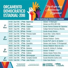 Calendário ODE 2018