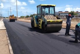 DER termina em fevereiro obras de pavimentacao de avenida em Jacare 1 270x183 - DER conclui obras de pavimentação de avenida em Jacaré até final de fevereiro