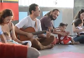 Musicalização Infantil 1 270x188 - Cearte abre matrículas para 198 cursos e oferece 2.300 vagas, inclusive para bebês