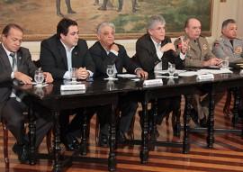 coletiva segurança foto alberi pontes secom pb 1 270x191 - Paraíba é o único estado a reduzir assassinatos por 6 anos consecutivos e atinge 3ª maior queda do Brasil