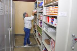 farmácia 3 270x180 - Mais de 597 mil medicamentos foram dispensados pela Farmácia do Hospital de Trauma de João Pessoa em 2017