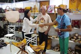 ligia salão11 foto Junior Fernandes 270x180 - Vice-governadora visita Salão do Artesanato e destaca sua importância para os artesãos