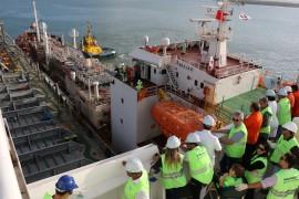operação ship to ship5 foto Francisco França 270x180 - Ricardo acompanha operação piloto Ship to Ship no Porto de Cabedelo