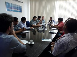 reunião porto 270x202 - Plano Mestre do Porto de Cabedelo é apresentado ao Conselho de Autoridade Portuária