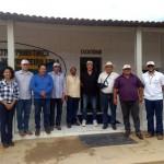 Visita a Capribom em Monteiro