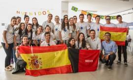 gira mundo Delmer Rodrigues 10 270x163 - Intercambistas do programa Gira Mundo Espanha são recebidos com festa em João Pessoa