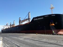 13.03.18 Movimento Porto de Cabedelo  270x202 - Porto de Cabedelo movimenta mais 60 mil toneladas de petcoke em quatro dias