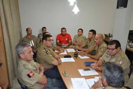 DSC 0079 270x180 - Conselho Superior do Corpo de Bombeiros se reúne no Quartel do Comando Geral