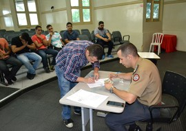 bombeiros realizam exames psicologicos 2 270x191 - Bombeiros realizam exame psicotécnico do Curso de Formação de Oficiais