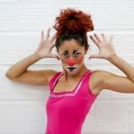 dia do teatro e circo-PALHAÇA cavalera - Nyka Barros