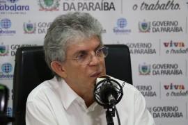 fala governador Foto Francisco França 270x180 - Ricardo anuncia concurso com mil vagas para a área da Segurança Pública