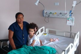 hospital metropolitano atendimento humanizado 3 270x183 - Crianças cirurgiadas no Hospital Metropolitano aguardam alta médica e mães elogiam atendimento humanizado