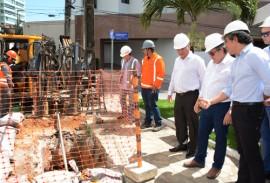 joao azeveto e diretoria da pb ver obras foto walter rafael 6 270x183 - Instalação da rede de distribuição de gás em Brisamar vai beneficiar 2 mil residências e comércios