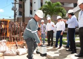 joao azeveto e diretoria da pb ver obras foto walter rafael 7 270x192 - Instalação da rede de distribuição de gás em Brisamar vai beneficiar 2 mil residências e comércios