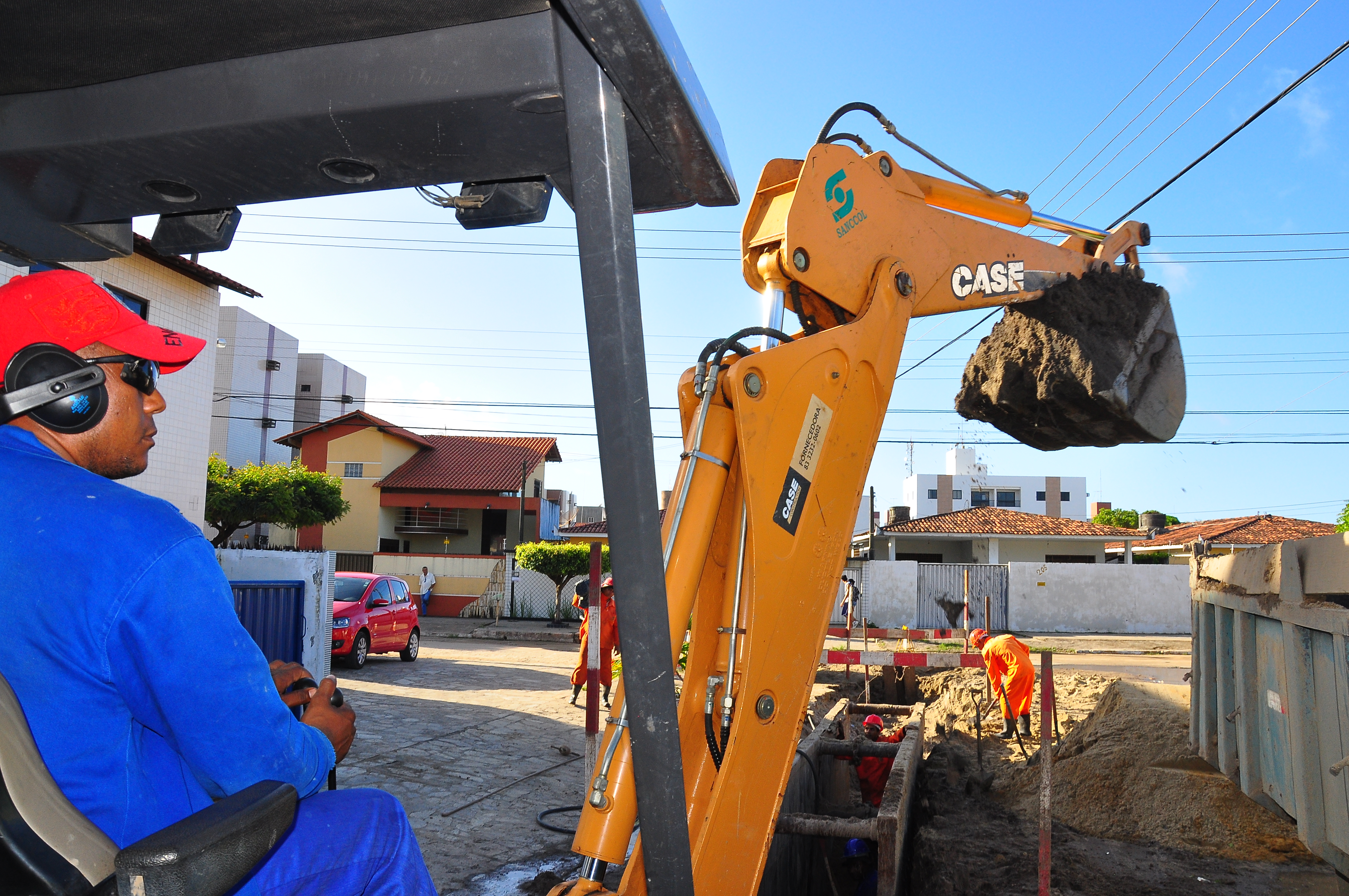 obras cagepa esgotamento sanitario foto walter rafael 4
