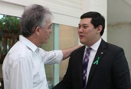 ricardo recebe ministro do trabalho foto francisco franca 1 270x183 - Ricardo e ministro do Trabalho discutem fortalecimento de parcerias