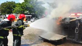 bombeiros 270x152 - Corpo de Bombeiros realiza 312 atendimentos no fim de semana