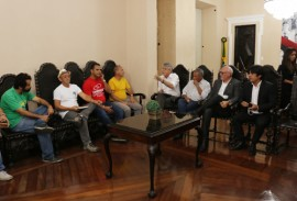 ricardo reune com sindicatos sobre greve foto francisco franca 2 270x183 - Governo reúne entidades dos trabalhadores para dialogar sobre efeitos da paralisação