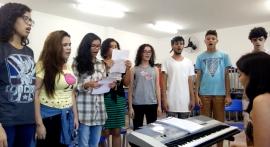 Aula de Canto Coral Cearte