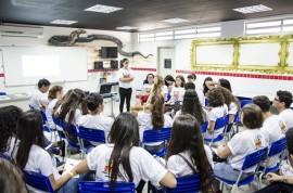 Diego Nóbrega Se Liga no Enem São Bento 15 270x178 - #SeLigaNoEnem:600 estudantes da Rede Estadual de Ensino participam do movimento em São Bento