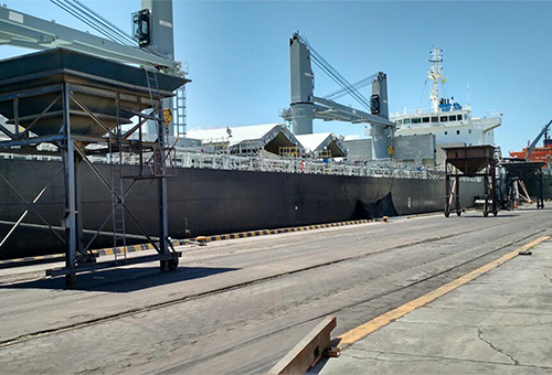 porto de cabedelo movimentou mais de 500 mil toneladas em cinco meses