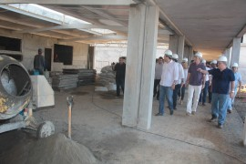 visita escola tecnica foto alberi pontes6 270x180 - Ricardo inspeciona obras da Escola Técnica de Guarabira