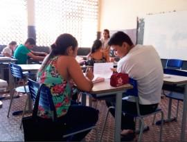 Alunos Gira Mundo 2 270x205 - Alunos do Gira Mundo compartilham conhecimentos adquiridos no programa com colegas da escola