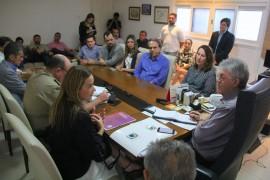 Reunião segurança 1 270x180 - Ricardo discute ações na área de segurança com representantes de entidades de Campina Grande