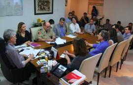 Reunião segurança 4 270x174 - Ricardo discute ações na área de segurança com representantes de entidades de Campina Grande