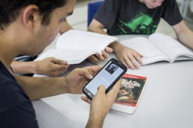 DiegoNóbrega Atividades Escola Estadual Presidente João Gulart 4 270x180 - Projetos literários incentivam leitura e escrita na Rede Estadual de Ensino da Paraíba