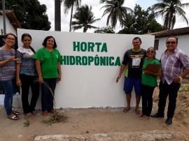alunos 270x202 - Alunos da cidade de Capim conhecem cultivo hidropônico de hortaliças