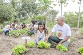 see horta escolar aumenta o aprendizado e enriquece a alimentacao dos alunos foto Diego Nobrega 9 270x178 - Hortas enriquecem aprendizado e promovem alimentação saudável nas escolas estaduais da Paraíba