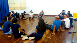 Momento das Emoções no IEP em João Pessoa 270x152 - Alunos das Escolas Estaduais da Paraíba recebem apoio de Educação Emocional para o Enem