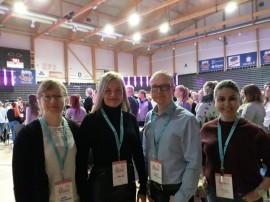 Professoras no evento InnoEvent Finlândia 2 270x202 - Professoras da Paraíba participam do maior evento de empreendedorismo de Tampere, na Finlândia