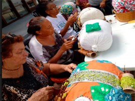 rendeiras 270x202 - Fundação Casa de José Américo sedia Encontro de Rendeiras de Bilros da Paraíba