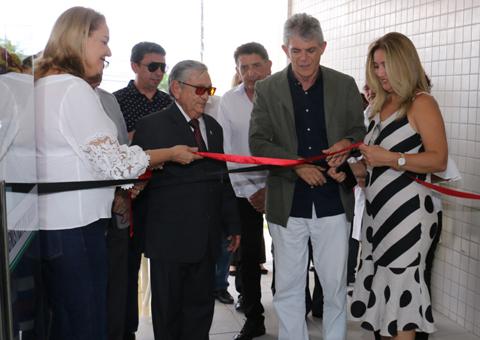 ricardo inaugura o centro de Imagem do Napoleão Laureano_foto francisaco franca (1)