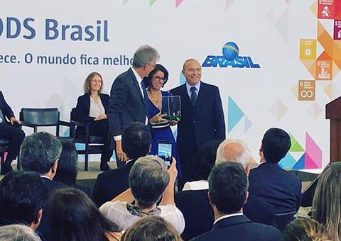 ses recebe premio ods brasil