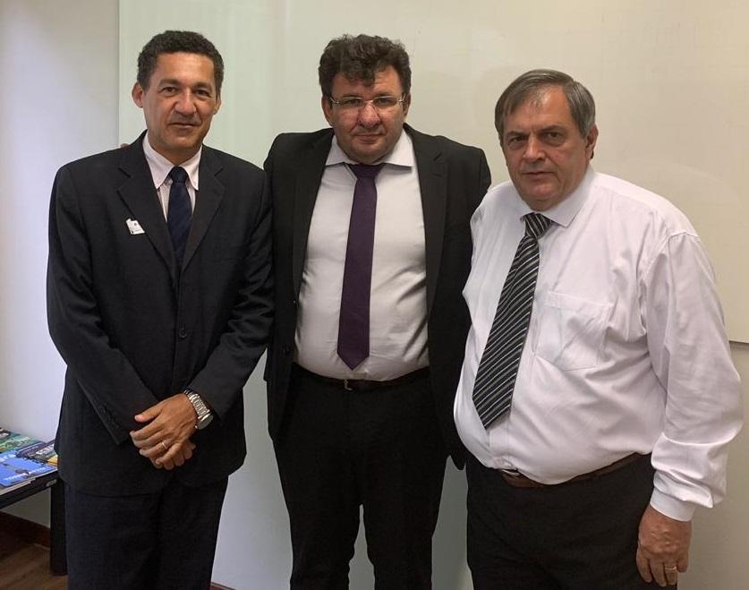 Reunião em Brasília com o Secretário de Desenvolvimento Tecnológico e Inovação do MCTIC, Paulo Alvim