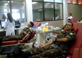 exercito participa de mobilizacao para doacao de sangue_foto asscom hemocentro (6)